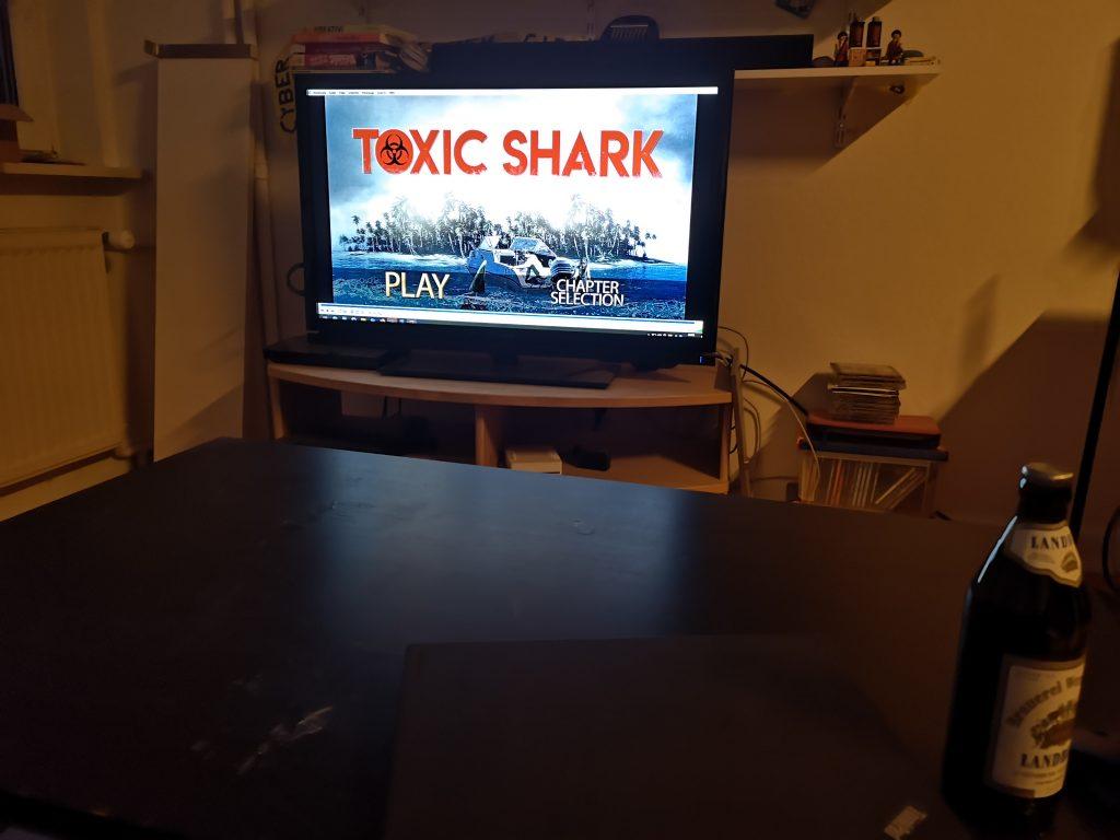 Fernseher mit DVD-Menü